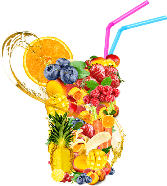Juicing Mix including almost all of the fruits in the world
